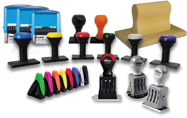 Different types of Rubber stamp holders